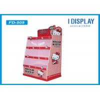 Toys Corrugated Cardboard Floor Displays Stands For Trade Shows