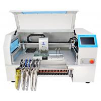 Wholesale CHMT530P4 Desktop SMD pick and place machine for pcb , 30 feeders from china suppliers