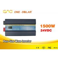 Wholesale Single Phase 24v/48vdc 110vac Solar Inverter Charger 50HZ / 60HZ 1.5kw Power Inverter from china suppliers