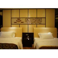 Wholesale Comfortable Single Bed Wooden Bedroom Furniture With Leather Upholstered from china suppliers
