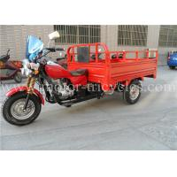 Wholesale CDI Ignition Durable Frame Red Gasoline Tricycle 12L Fuel Tank 320 kg Dry Weight from china suppliers