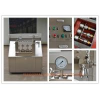Wholesale Industrial 3 plunger Two Stage Homogenizer , Professional Homogenization Machine from china suppliers