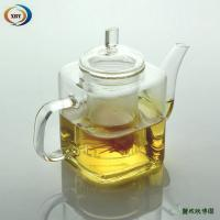 Wholesale 500ml square heat resistant teapots from china suppliers