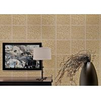 Wholesale Light Brown Non Woven Wallcovering European Style Wallpaper For Living Room from china suppliers