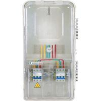 Wholesale 1 Position 3 Phase Electric Meter Box With 10% Reinforced Glass Fiber from china suppliers