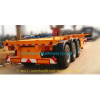 Wholesale 3 AXLES/60T TRACTOR SKELETON TRAILER from china suppliers