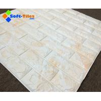 Wholesale 3D Brick Thicken Soft PE Foam Wall Sticker Panels Wallpaper Decor from china suppliers