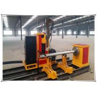 Wholesale 25kw Cnc Pipe Flame Cutting Machine 3 Axis Two Linkage Axises Intersection Cutter from china suppliers