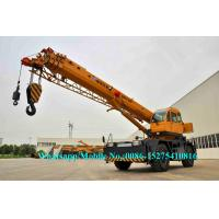 China All Wheel Drive 4x4 XCMG Sany Zoomlion 25 Ton RT25 Mobile rough terrain crane telescopic Boom High Cost Effective on sale