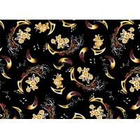 Wholesale Decorator Printed Micro Velvet Weave Fabric Thick Shrink-Resistant from china suppliers
