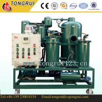 Wholesale Vacuum Waste Hydraulic Oil recycling plant/ Industial Lubricant Oil Filtration Equipment from china suppliers