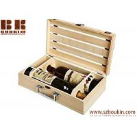 China Wooden Box Manufacturer Wine Bottle Box Wooden Gift Wooden Box For Wine on sale