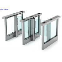 Wholesale Full Automatic Supermarket Swing Gate High Security Waterproof Intelligent Turnstiles from china suppliers