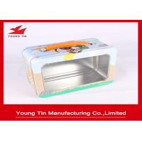 Wholesale Rectangle Full Color Printed Metal Lunch Tin Box YT1225 With Clear PET Window from china suppliers