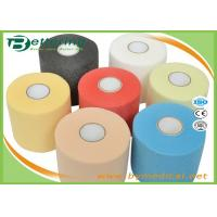 Wholesale 7cmX27m Sports Underwrap Foam Tape Polyester Fiber Elastic Adhesive Muscle Strain Injury Roll Bandage from china suppliers