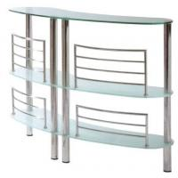 Wholesale Tempered Sanded Modern Glass Bar Table Three Layer For Supermarket from china suppliers