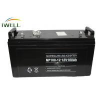 Wholesale High Temperature 12 V 100Ah Gel Battery PVS / Wheel Chair Batteries NP 100-12 from china suppliers
