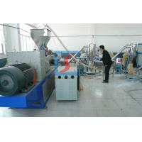 Wholesale Plastic Double Stage Granulating Line With Twin-screw For Polymer Blending from china suppliers