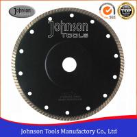 Wholesale 180mm Diamond Narrow U Turbo with Reinforced Ring for cutting tile and ceramic from china suppliers