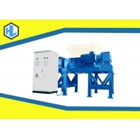 Wholesale High Capacity Twin Shaft Hospital Solid Waste Shredder 15mm Cutter Thickness from china suppliers