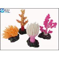 Wholesale Custom Coral Aquarium Fish Tank Decorations / Aquarium Ornaments Colorful and Eco-friendly from china suppliers