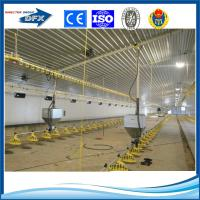 Quality construction steel structure prefab large industrial chicken poultry farm for sale