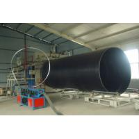 Wholesale Light Weight HDPE Pipe Extrusion Machine with PLC Intelligent Control from china suppliers