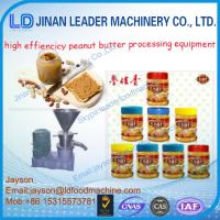 Wholesale automatic stainless steel peanut butter making machine from china suppliers