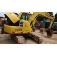 Wholesale Used Komatsu Excavator PC60 , 6 ton excavator with high quality from china suppliers