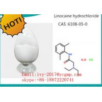 Wholesale Pharmaceutical Intermediates Local Anesthetic Drugs 73-78-9 Lidocaine Hydrochloride from china suppliers