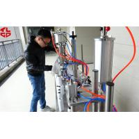 Wholesale Semi Automatic 3 in 1 Aerosol Filling Machine for Insecticide Pesticide Sprays Pneumatic Drive from china suppliers