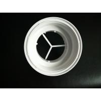 Buy cheap White Color Plastic Connector Plastic Injection Moulded Components High Precision from wholesalers