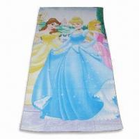 Wholesale Beach Towel, Customized Logos are Accepted, Various Designs are Available from china suppliers