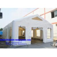 Wholesale Professional Commercial White Inflatable Air Tent , Inflatable Party Tent EN71 from china suppliers