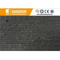 Wholesale Breathability Durability Black Wall Tiles / Exterior Wall Decorative Clay Split Brick Tile from china suppliers