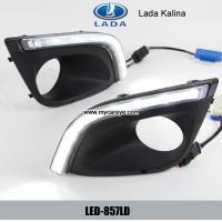 Wholesale Lada Kalina DRL LED Daytime driving Lights Car exterior led daylight from china suppliers
