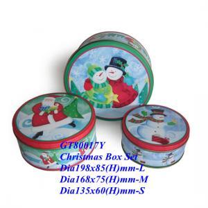 Wholesale Metal set , gift set ,Gift box set, metal case set, metal box set, Christmas Box, cake Box, Christmas Box set from china suppliers