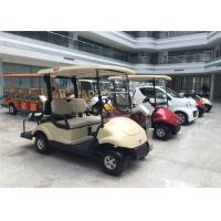 Wholesale Club Car 4 Seater Golf Carts Dongfeng , Street Legal Electric Cars 3KW Motor from china suppliers