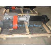 Wholesale Mining Rubber Lined vertical slurry pump from china suppliers