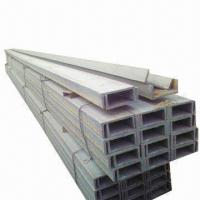 Wholesale Stainless Steel Channel Bar, White Acid, Hot Rolled, Polished, Sandblast Surface and Random Length from china suppliers