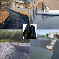 Buy cheap 5.8M width black color 80mil HDPE  pond liners for Impermeable Geomembrane by sincere factory price supply from wholesalers