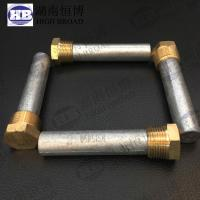 Wholesale GM and Detroit Diesel engine zinc anode rod with brozen caps , rod Shape from china suppliers