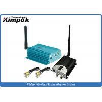 Wholesale 12 Channel 2.4GHz Video Transmitter And Receiver With 4000m Distance from china suppliers