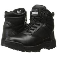 Wholesale Black Military Tactical Boots Classic 6 Inch Side - Zip Comfortable from china suppliers