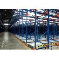Wholesale Industrial Shuttle Storage System With High Density Steel Beam / Steel Rivet from china suppliers