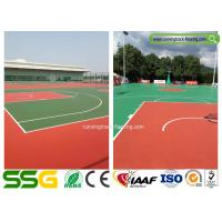 Wholesale Multifunctional Outdoor Basketball Court Badminton Court Silicon PU Surface Materials from china suppliers