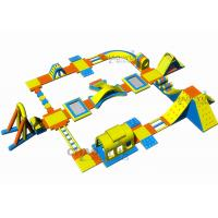 Wholesale Air Hot Welded Water Park Inflatables High Performance 40x40m from china suppliers