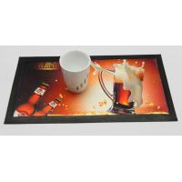 Wholesale Eco-friendly Dye Sublimation Nitrile Rubber Bar Mat With 4C Heat Transfer Print from china suppliers