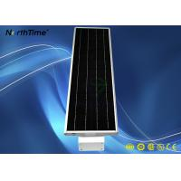 All-in-one Solar Streetlight Led Outdoor Lighting Fixture with IP65 Aluminum Casing Lithium Iron Phosphate Battery