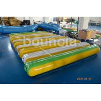 Quality Giant Inflatable Floating Water Games /  Inflatable Aqua Park With Trampoline for sale